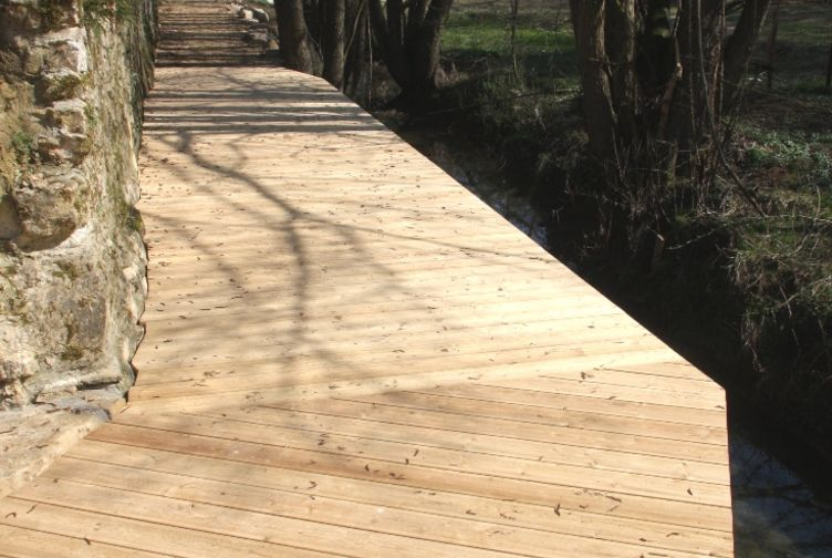 Terrasse bois, Passerelle en bois, , LUXEMBOURG - 5_1 - Martin Charpentes