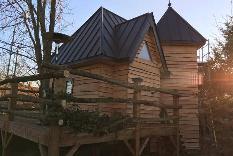 Garage bois / Abri de Jardin, Château de jardin, Meurthe et Moselle, Méréville - CHATEAU DE JARDIN - Martin Charpentes
