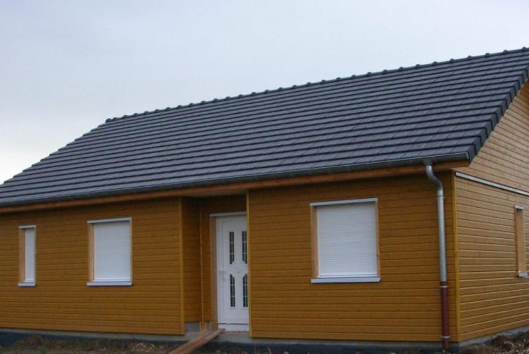 Construction pavillon de plain pied, maison individuelle en Moselle - Martin charpentes