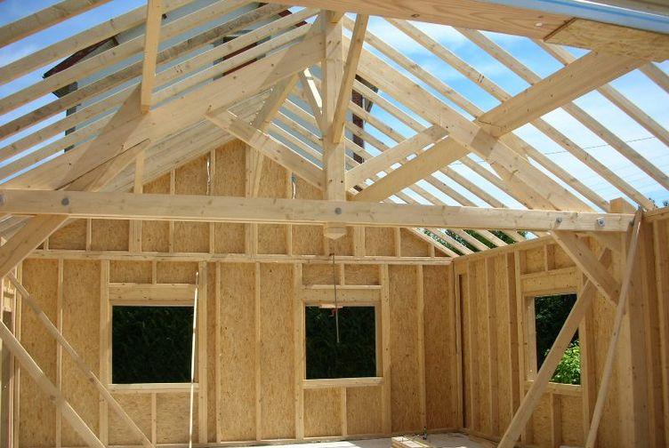 Garage bois / Abri de Jardin, Garage, Marne, SAINTE MEMMIE - 610_2 - Martin Charpentes
