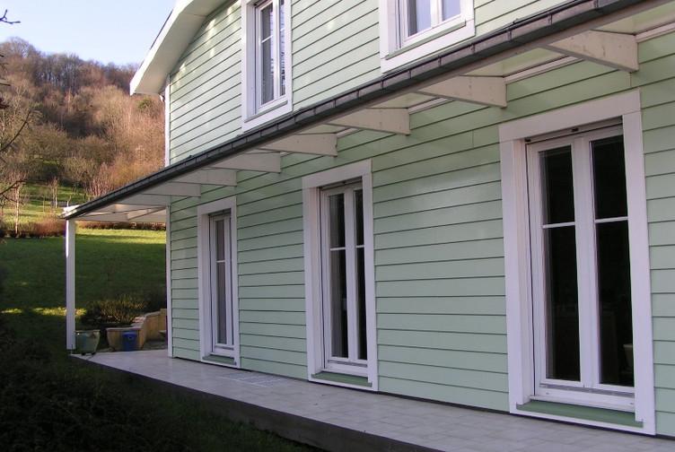 Entreprise de construction bois : maison ossature bois, Mont le vignoble, Meurthe et Moselle - Martin charpentes