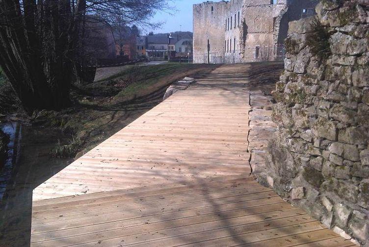 Terrasse bois, Passerelle en bois, , LUXEMBOURG - 6_0 - Martin Charpentes