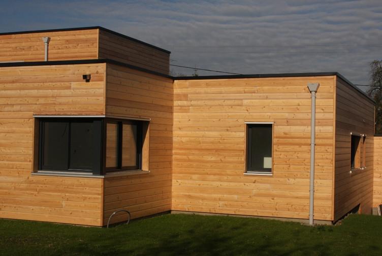 Entreprise construction bois : maison contemporaine et individuelle – Meurthe et Moselle - Martin charpentes