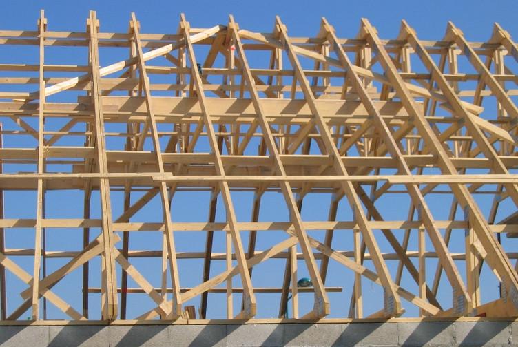 Charpente Bois Industrielle : Charpente industrielle pavillon – realisation charpente reims – martin