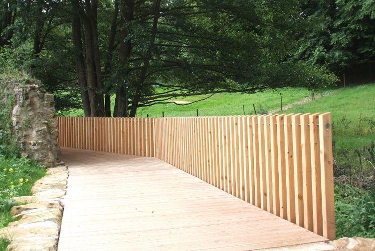 Terrasse bois, Passerelle en bois, , LUXEMBOURG - 9_0 - Martin Charpentes