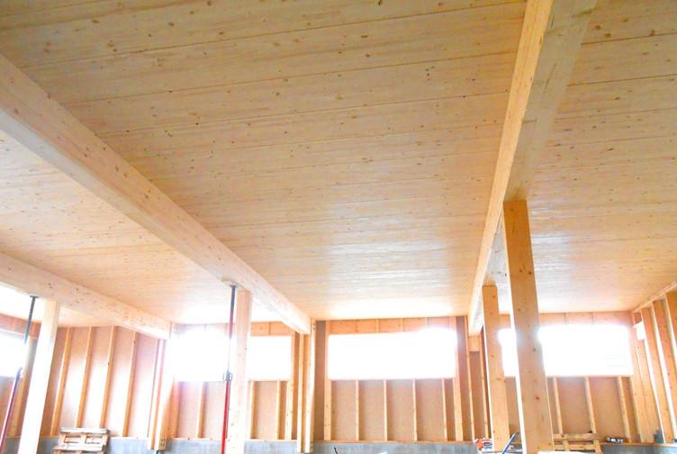 bâtiment structure bois