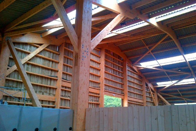 Charpente traditionnelle en bois - construction bois en Belgique - Martin charpentes