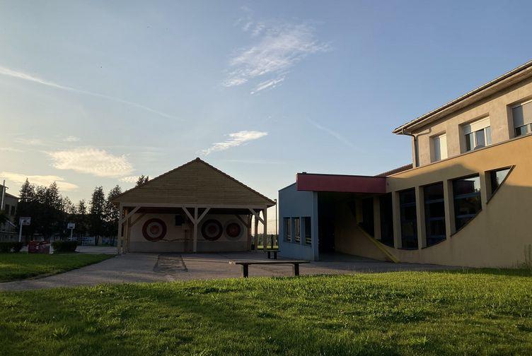 Abri bois , Abri école primaire , Meurthe et Moselle, Belleville - img_0235 - Martin Charpentes