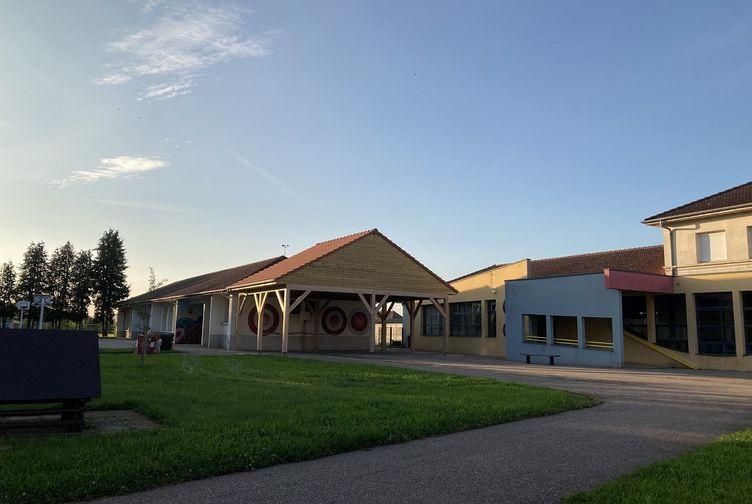 Abri bois , Abri école primaire , Meurthe et Moselle, Belleville - img_0236 - Martin Charpentes