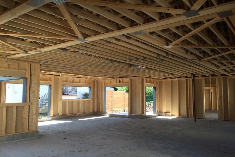 maison en bois ossature bardage bois bayon martin charpentes