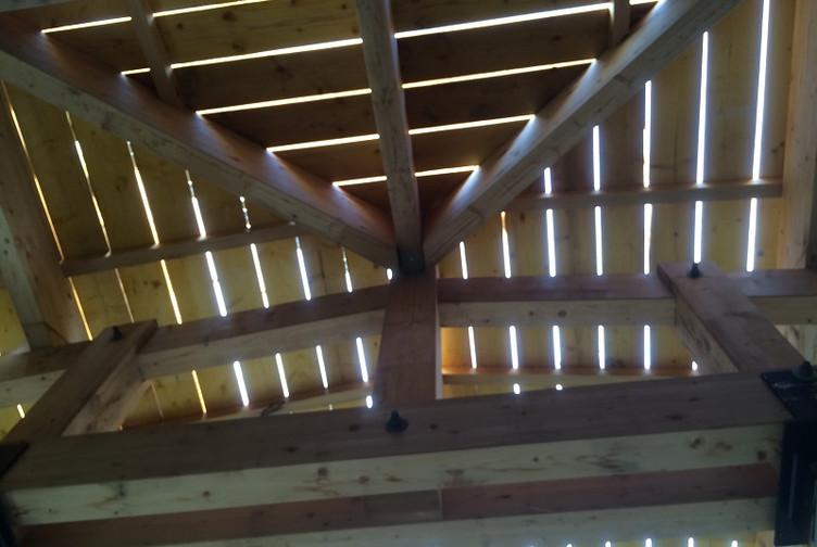Entreprise construction bois en Lorraine : charpente traditionnelle d'une maison de santé pluridisciplinaire - martin charpentes