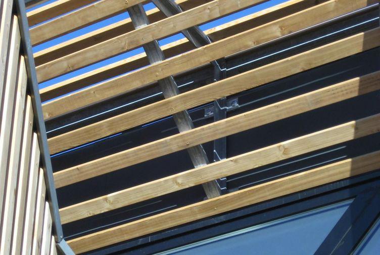 Entreprise de construction bois : structure & bardage bois, maison de santé, void vacon – Martin charpentes