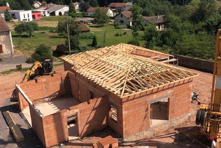 Entreprise de construction bois : charpente industrielle et traditionnelle, pavillon menil sur Belvite, Vosges 2 – Martin charpentes