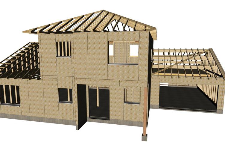 Structure Bois Maison Free Maison Pzb Nicolas Masurel