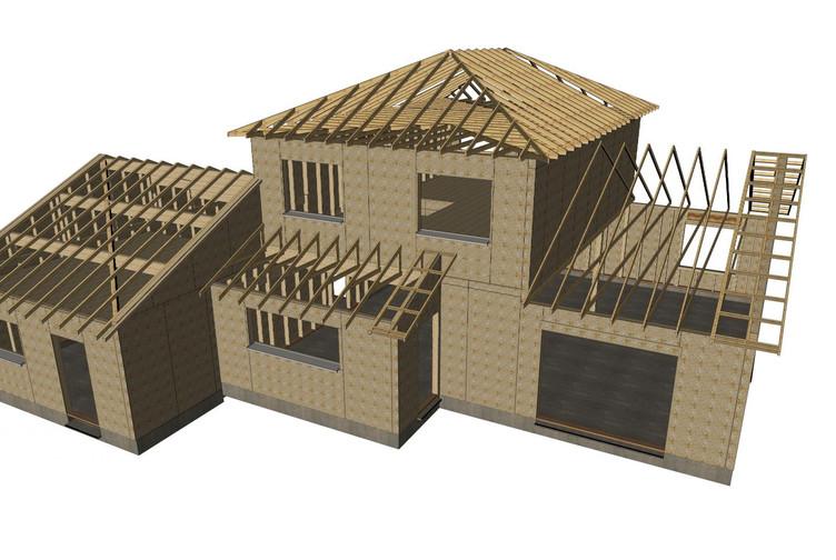Entreprise construction bois : maison à structure bois, maison individuelle en Meurthe et Moselle - Martin charpentes