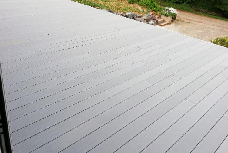 Terrasse surélevée